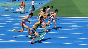 中学3年男子100m