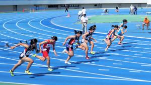 中学女子3年100m