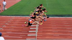 共通女子100mH