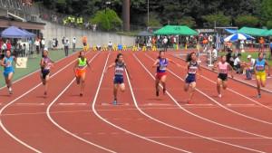 女子2年100m