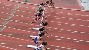中学2年女子100mH