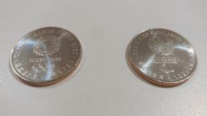 オリパラ記念コイン