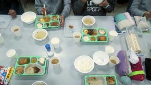 春季合宿二日目夕食