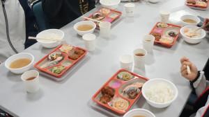 合宿最終日朝食