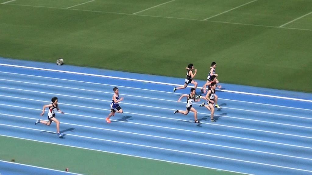 6年男子100m