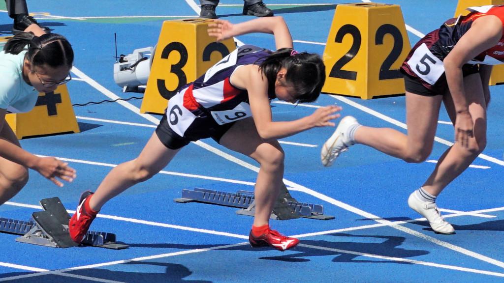 6年女子100m