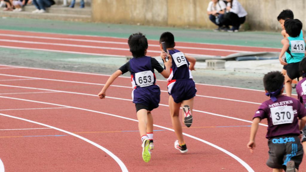 4年男子400mリレー