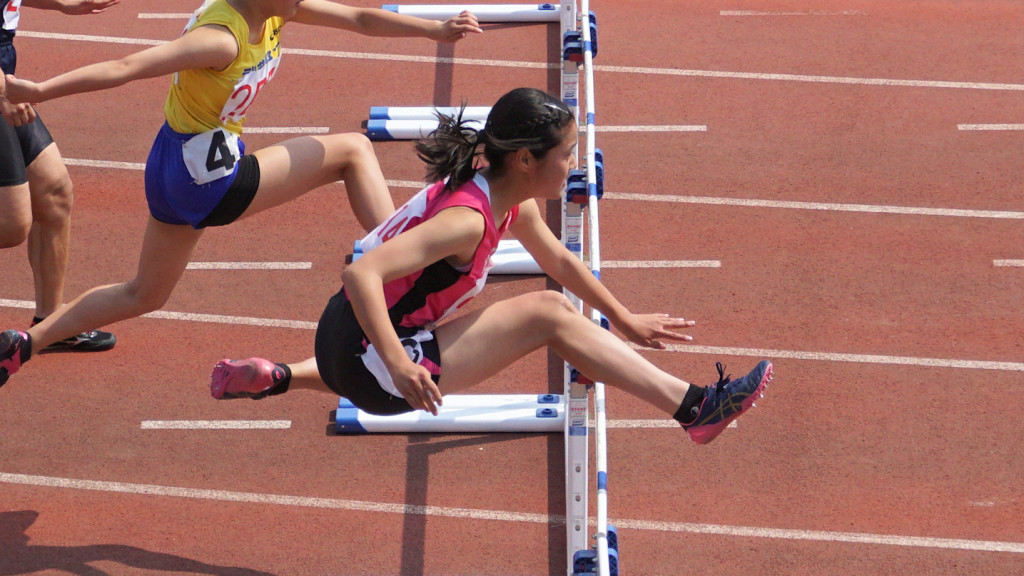 多摩東部女子100mH