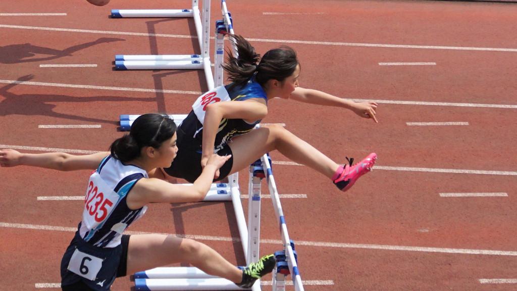 多摩西部女子100mH