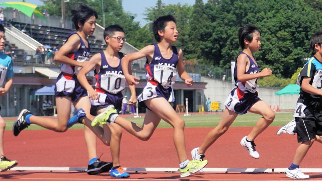 小学男子800m