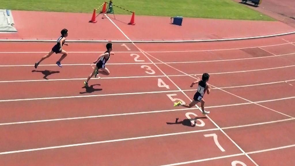 小学6年男子100m