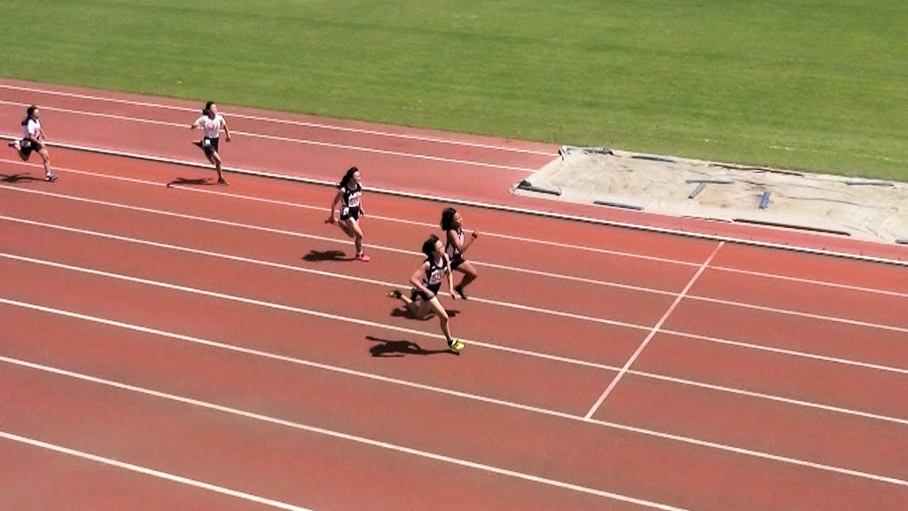 小学6年女子100m