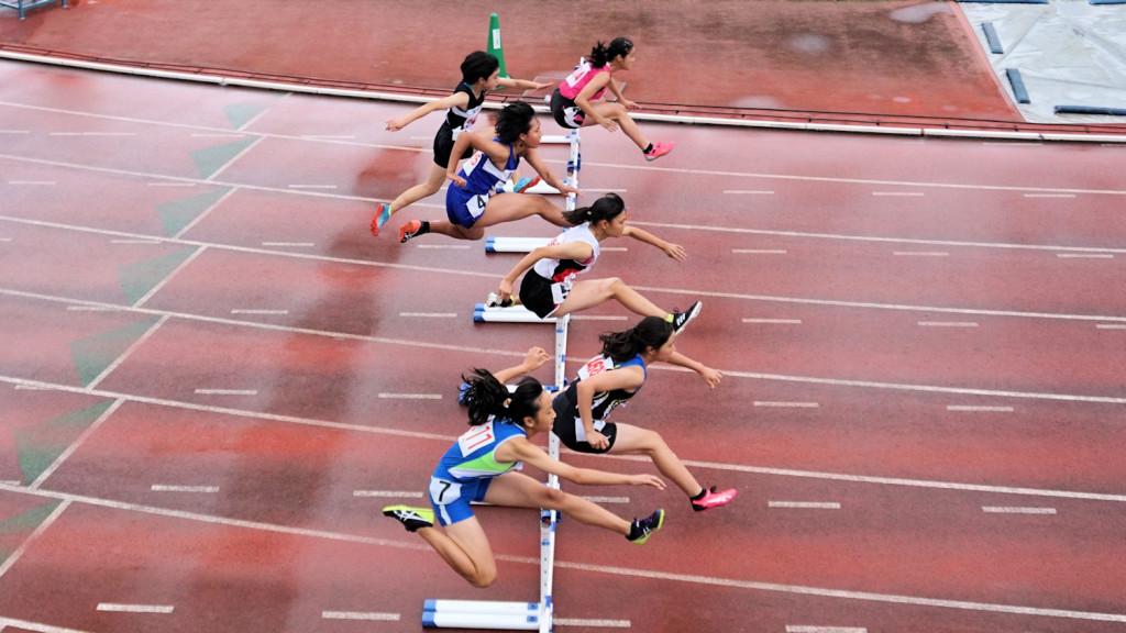 女子四種100mH