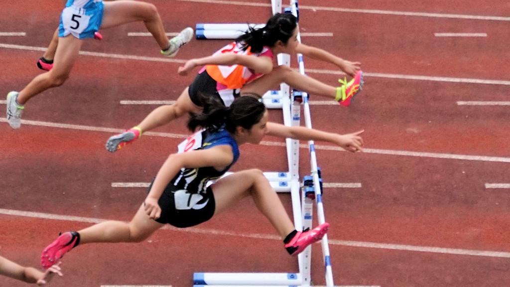 女子共通100mH予選
