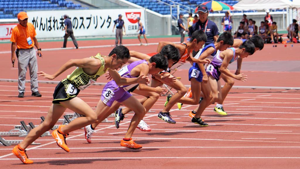 悠斗100m予選