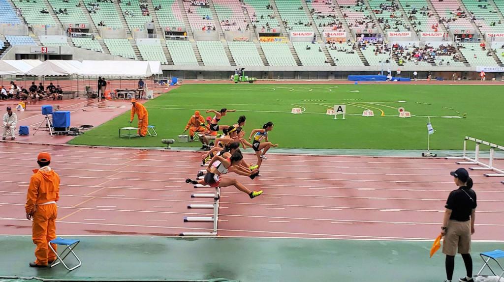 女子100mH予選