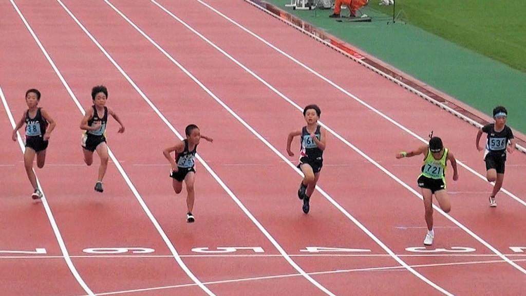 4年男子60m決勝