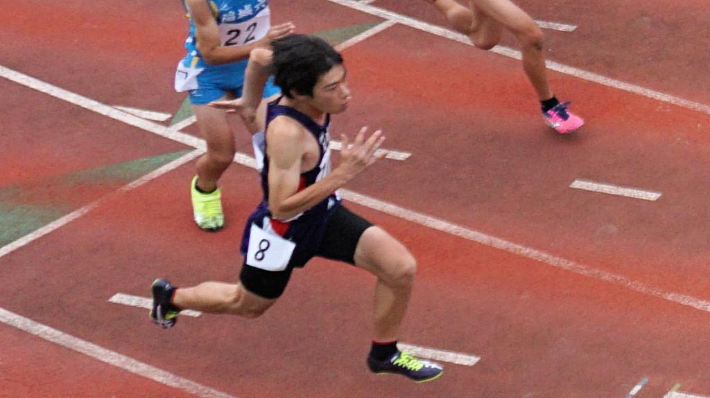 中1男子100m