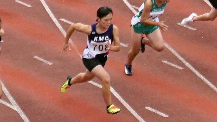 中3女子100m