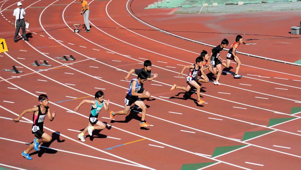 5年男子100m
