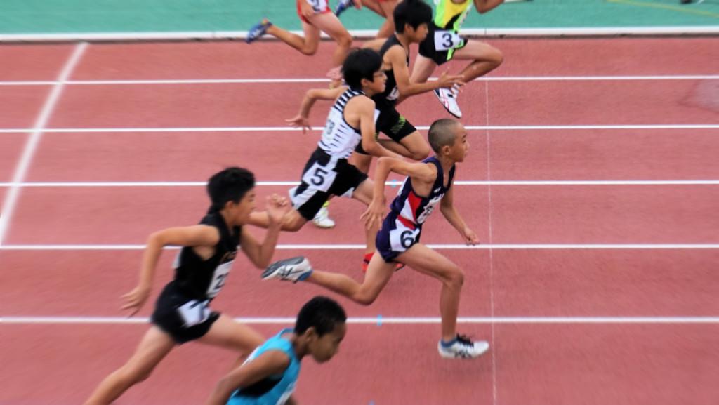 4年男子100m