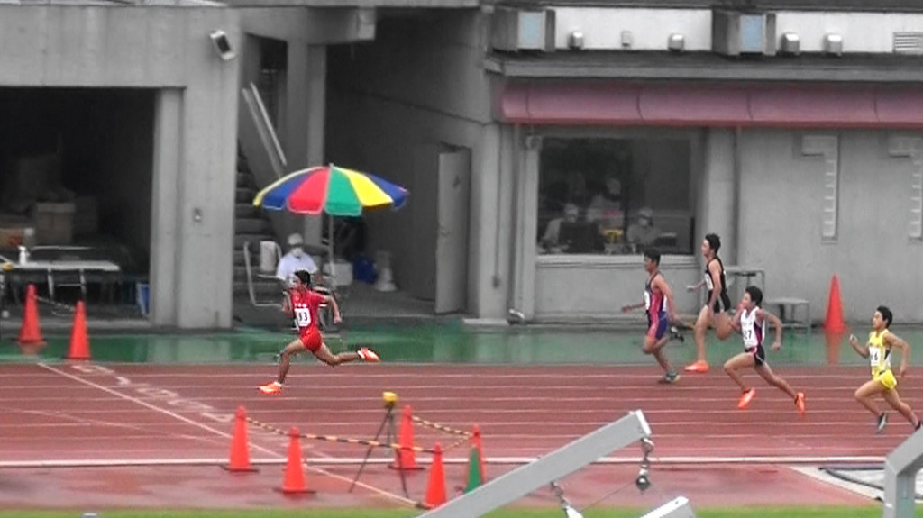 100m高崎颯太優勝!