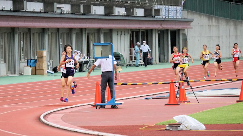 1500m鈴木結衣優勝!