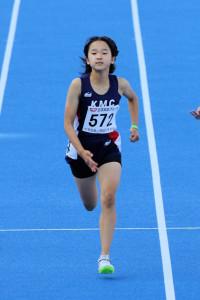 女子5年100m決勝