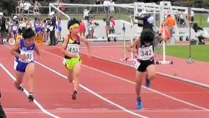 3・4年男子100m