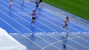 女子100m