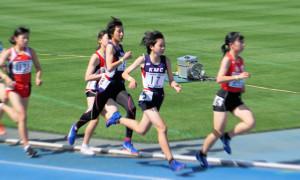中学生春季大会女子1500m