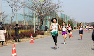 中1女子1km