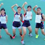 KMC陸上クラブ中学女子リレー