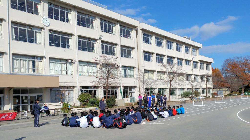 陸上体験教室